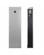 ABL Ladesäule eMC2 silber 2P4418 (2 x 22kW, Steckdose Typ 2, RFID, SIM) | The Mobility House