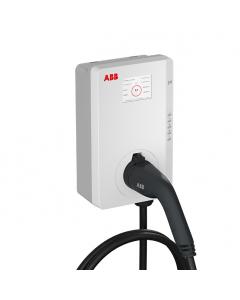 ABB Terra Wallbox 6AGC081285 (inkl. 5m Typ 2 Kabel, 22 kW, RFID/APP, MID, LAN/WLAN/SIM/Bluetooth)