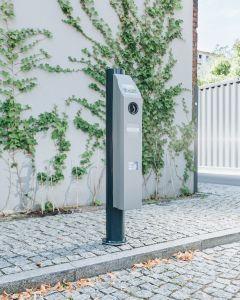Ebee Berlin 60022 AC-Wallbox (Steckdose Typ 2 und Shutter, bis zu 22 kW, RFID, eichrechtskonform, LAN/WLAN/SIM, Typ A RCD, DC, OCPP 1.6) | The Mobility House