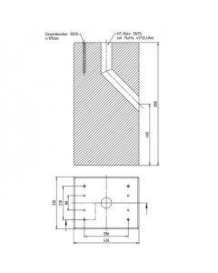 Betonfundament für Ladesäule ABL eMC2 | The Mobility House