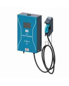DC-Wallbox (1 Anschluss) | (24kW, CHAdeMO, SIM, RFID) | The Mobility House