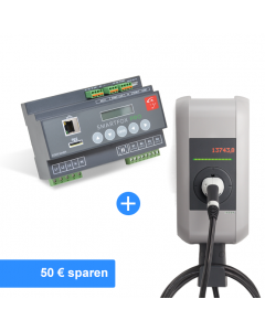Solar Paket KEBA Wallbox (22kW, inkl. 4m Kabel Typ2, Ethernet) | The Mobility House