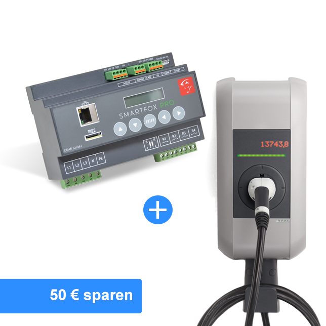 Solar Paket mit KEBA KeContact P30 Wallbox*