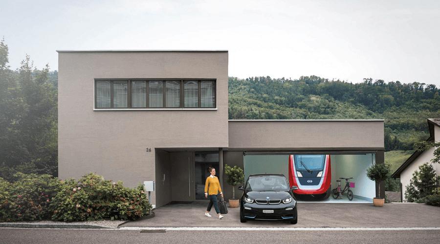 SBB Green Class-Kunden erhalten vergünstigte Heimladelösung von The Mobility House