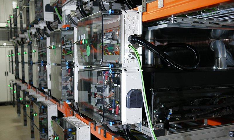 2nd-use Batteriespeicher von Daimler