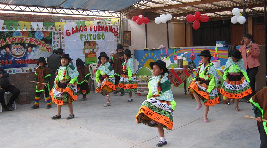Tanzaufführung des Jayma Kunan e.V. in Peru