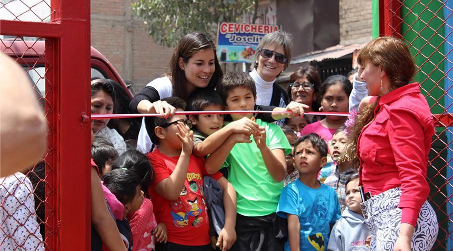 Eröffnung eines Kindergartens von Jayma Kunan e.V.