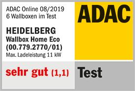 ADAC Wallbox-Testsieger: Heidelberg Wallbox