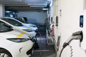 Flotte Pflegedienst elektrisch laden