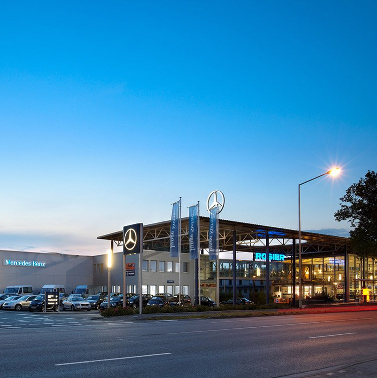 Car dealership Rosier Paderborn
