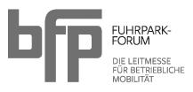 Logo: bfp Fuhrparkforum