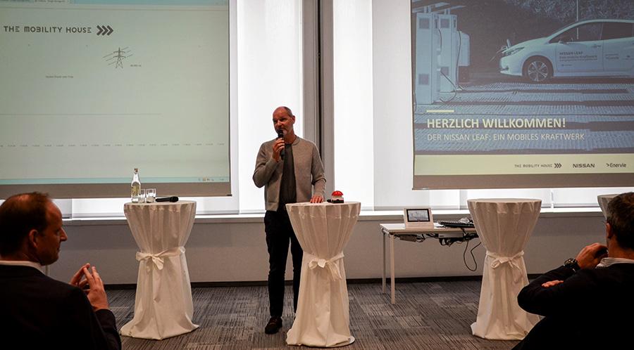 CEO und Gründer von The Mobility House Thomas Raffeiner