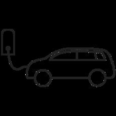Icon: Elektroauto laden