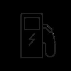 Icon Ladestation für Elektroautos