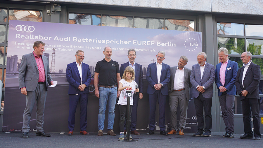 Official opening of the battery storage system
