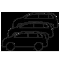 Icon: Flotte von Autos