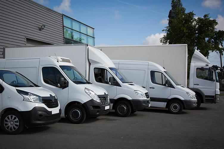 Lieferwagen-Flotte - Referenz