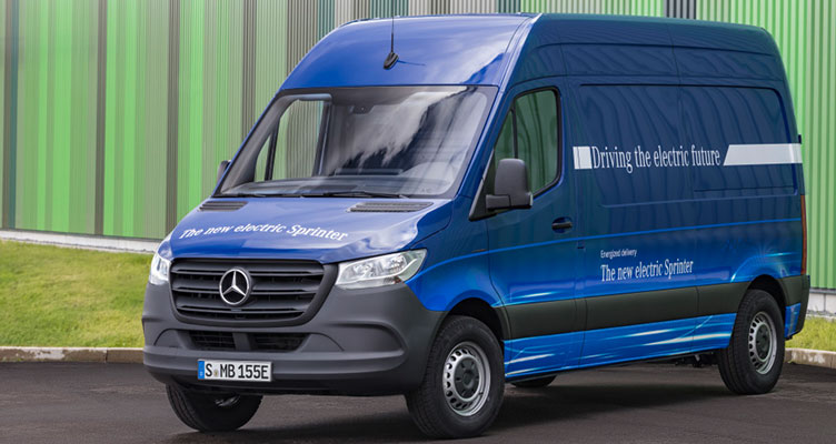 eSprinter von Mercedes Benz