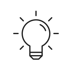 Icon: Glühbirne
