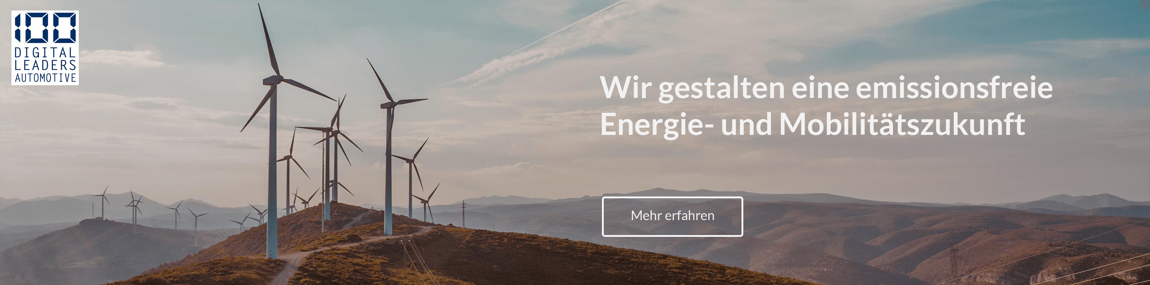 Wir gestalten eine emissionsfreie Energie- und Mobilitätszukunft