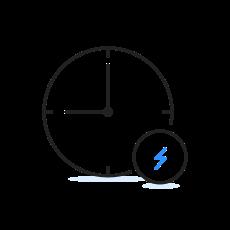 Icon - zeitgleich E-Autos laden