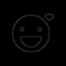 Icon - Zufriedenheit