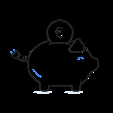 Icon: Kosten sparen