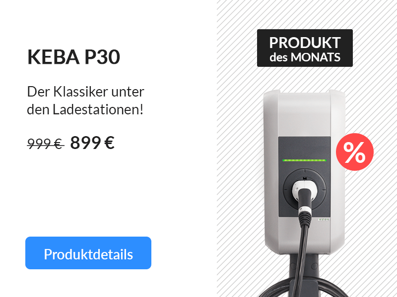 Produkt des Monats: KEBA Wallbox b-series