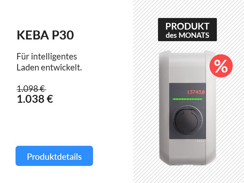 Produkt des Monats: KEBA Wallbox 97.908 KeContact P30 c-series