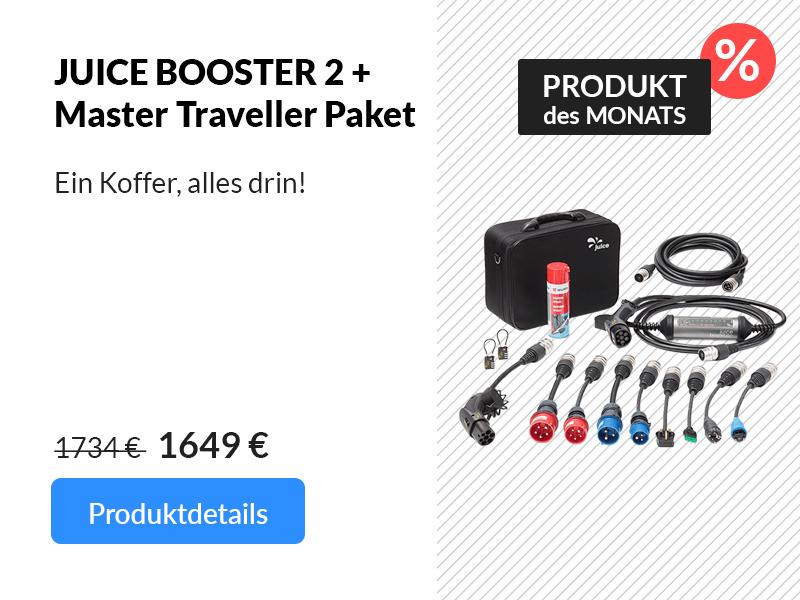 Produkt des Monats: JUICE BOOSTER 2 + Master Traveller Paket