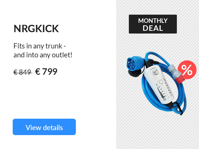 Deal of the month NRGkick 11 kW