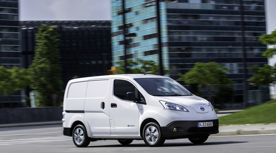 Nissan e-NV200 und Vehicle-to-Grid