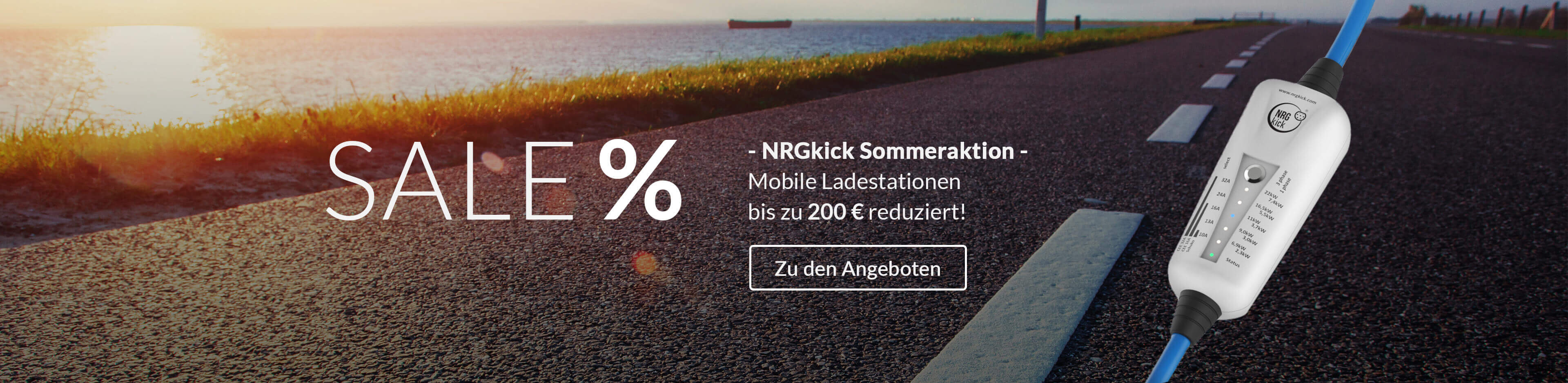 The Mobility House Summer Sale NRGkick mobile Ladestation