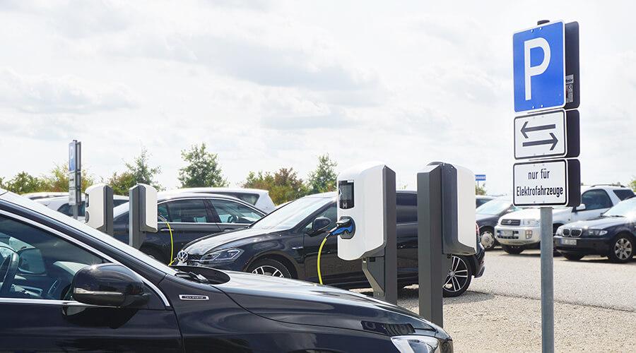 Elektroautos laden bei Océ