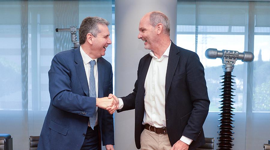 Piero Rosina und Thomas Raffeiner freuen sich über die gemeinsame Kooperation.
