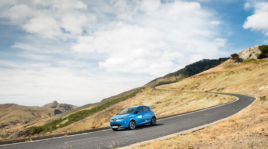 Elektrisch unterwegs mit Renault Zoe auf Porto Santo