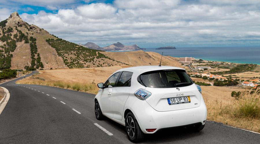 Renault Zoe als Teil des intelligenten Ökosystems auf Porto Santo