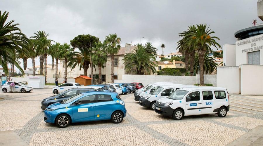 20 Renault electic cars on Porto Santo island