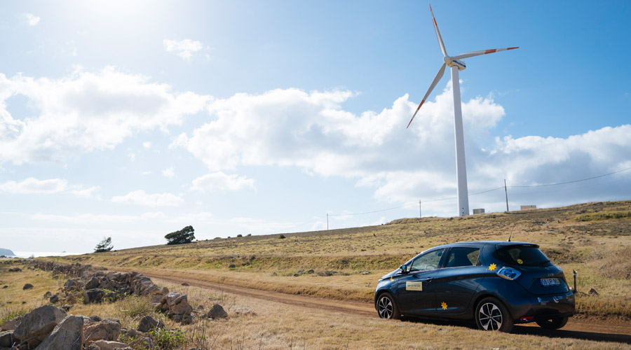 Renault ZOE as part of the intelligent ecosystem of Porto Santo