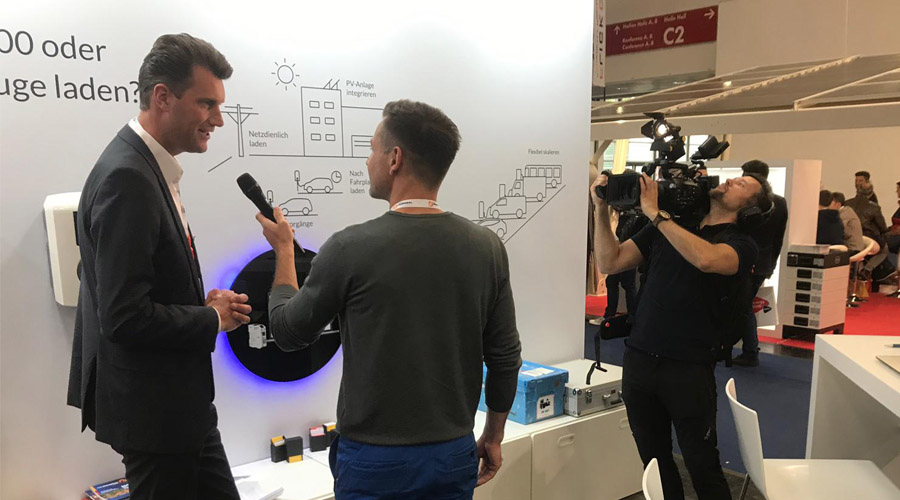Marcus Fendt in an interview about The Mobility House's intelligent charging solutions
