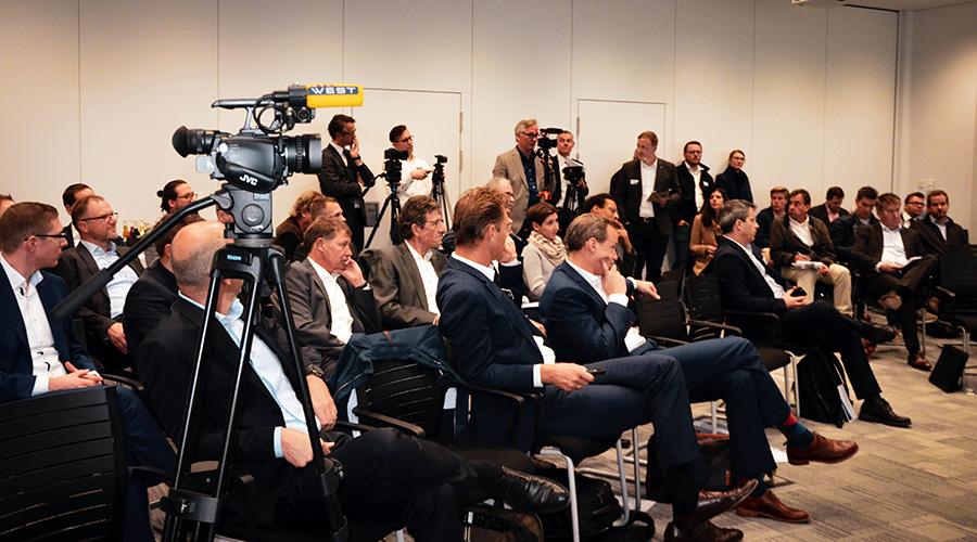 Presse-Event in Hagen am 23.10.2018