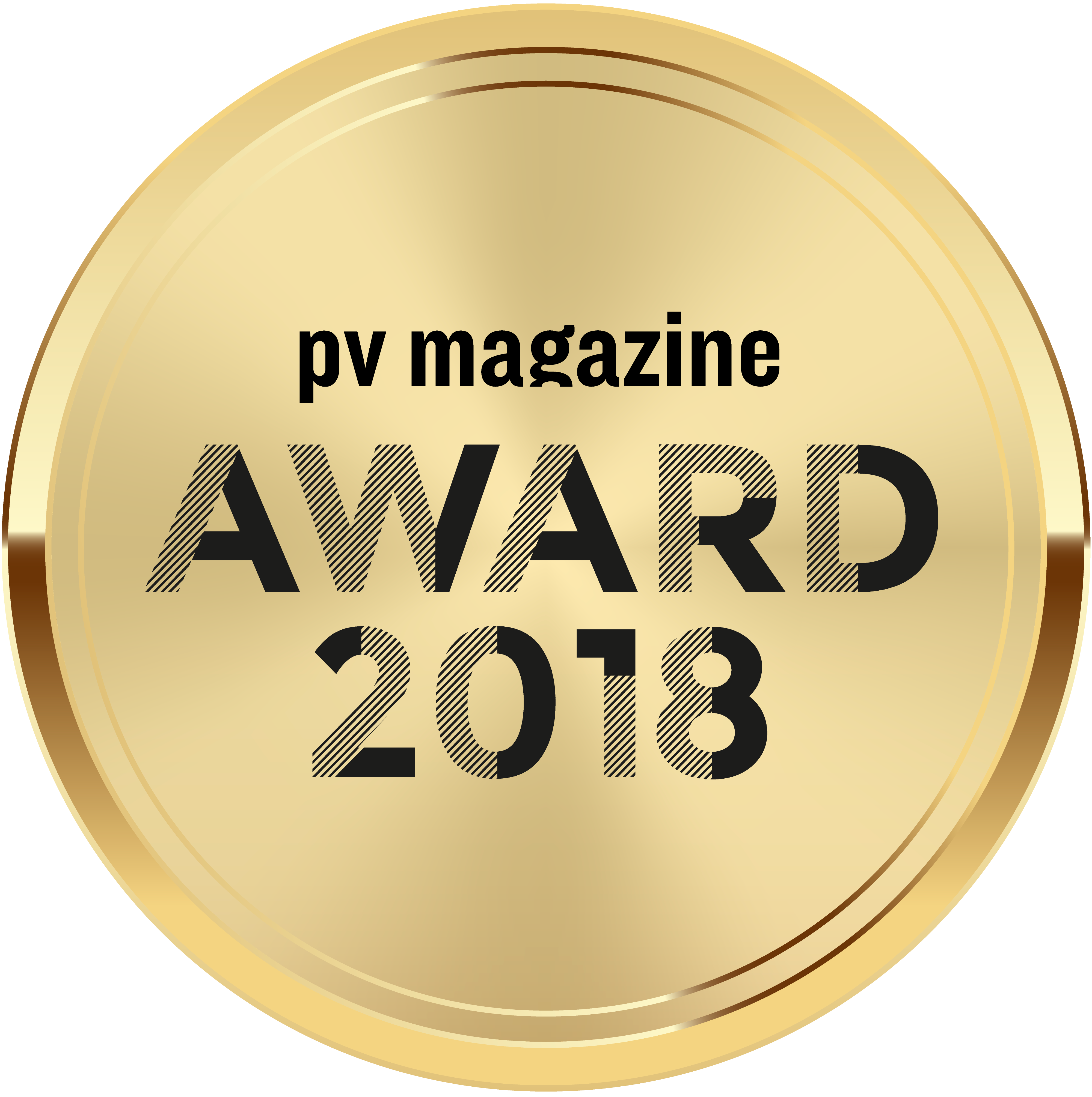 pv magazine Award 2018