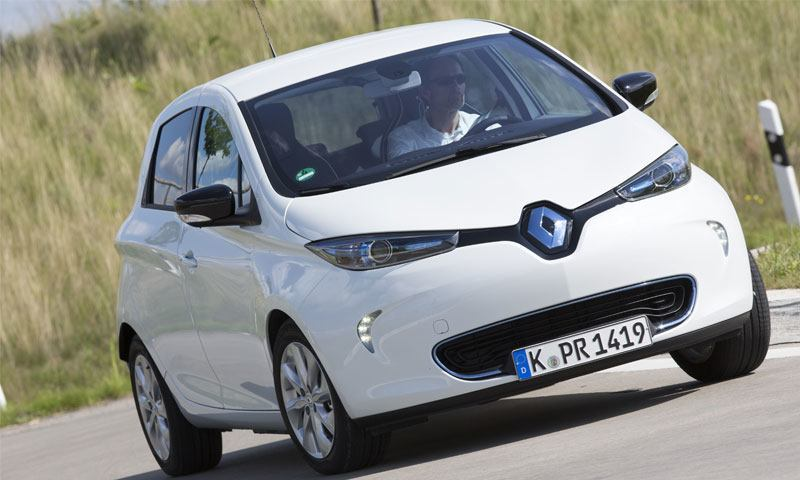 Renault Zoe und Vehicle-to-Grid