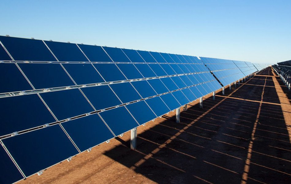 Solar panel for a sustainable energy use