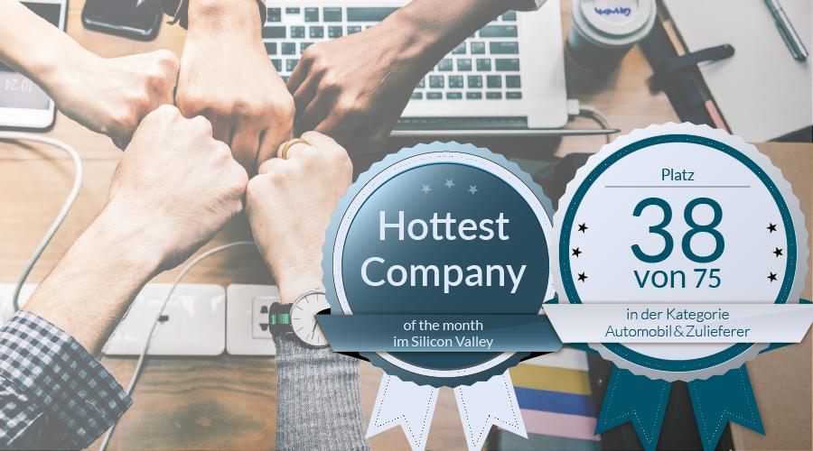 """The Mobility House ist ein """"Top Arbeitgeber des Mittelstands 2019"""" in Deutschland und """"Hottest Company"""" des Monats im Silicon Valley"""