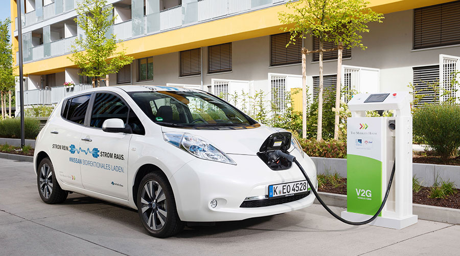 Vehicle-to-Grid (V2G) bei The Mobility House