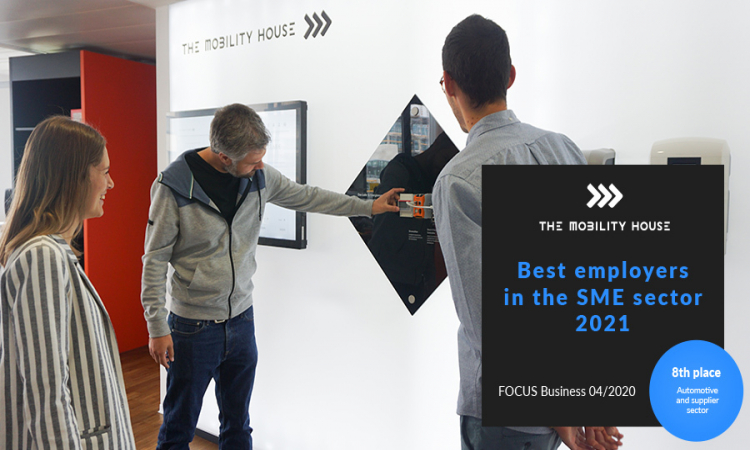 Focus Business zählt The Mobility House zu den Top Ten der besten Arbeitgeber im Mittelstand 2021