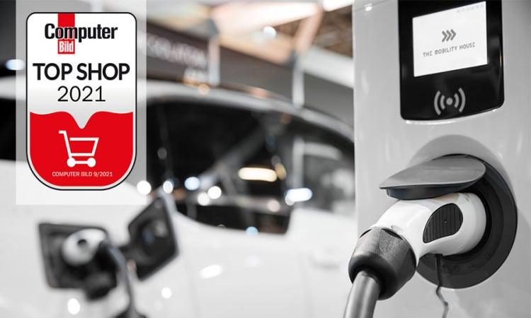 Online-Shop von Marktführer The Mobility House als Top Shop 2021 ausgezeichnet