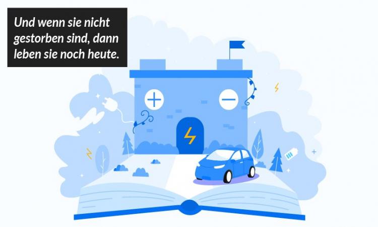 Märchen der Elektromobilität: Es war einmal... die kurze Lebensdauer der Elektroauto-Batterie!
