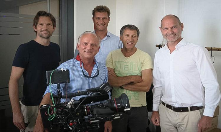 TV station '3sat' filmed at The Mobility House
